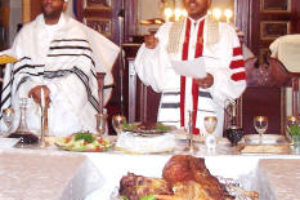 Passover 2005 BE  Table