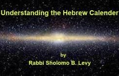 Understanding the Hebrew Calendar