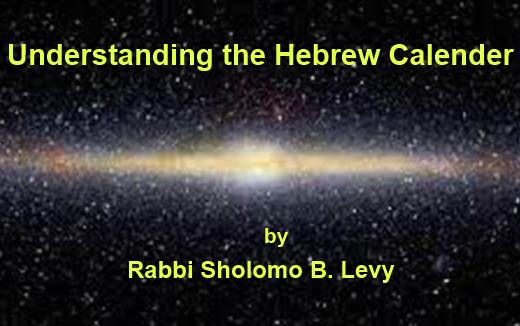 Understanding the Hebrew Calendar