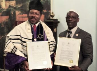 Black Synagogue Honored by City Council
