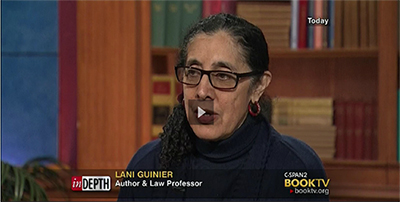 Lani Guinier CSpan Interview 2
