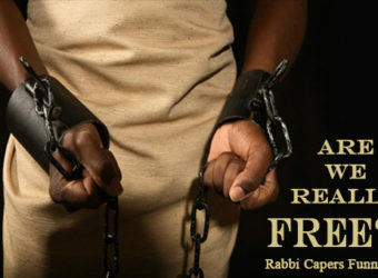 """Are We Really Free?""   Rabbi Capers Shmuel Funnye"