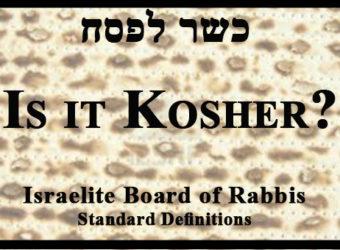 Kosher Passover Cover