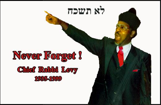 Chief Rabbi  Levy Memorial  Feb 21