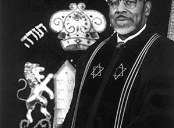 Chief Rabbi Levy Portrait Small