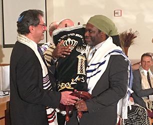 The Israelite Community Welcomes a New Rabbi