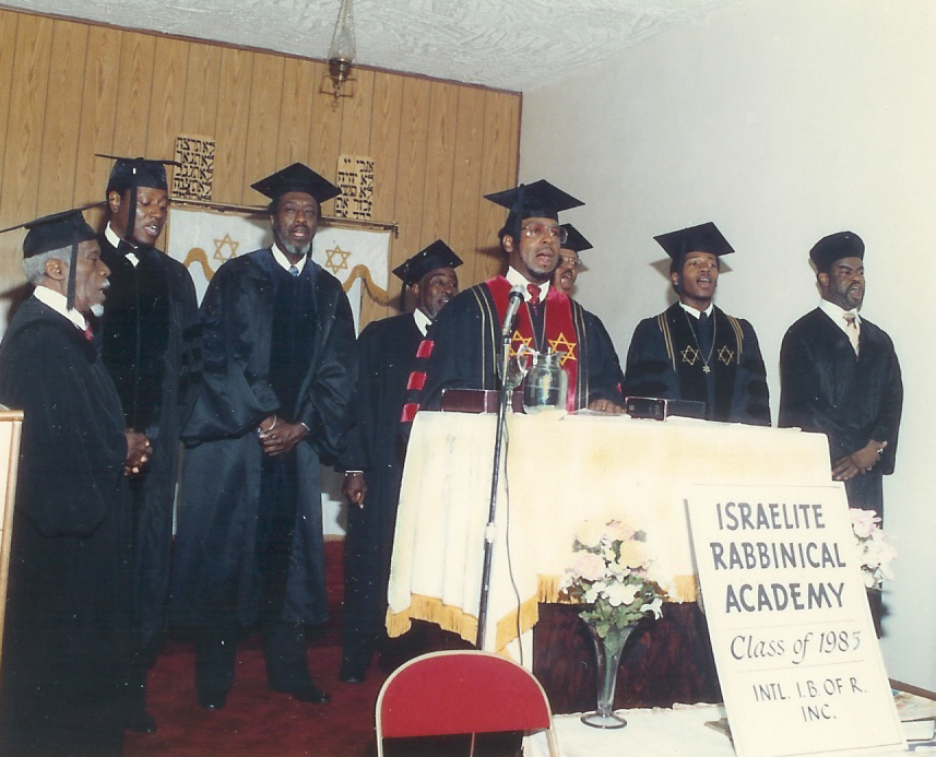 Rabbi Levy Graduation Ordination 1985 Group A