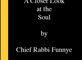 a close look by chief rabbi funnye